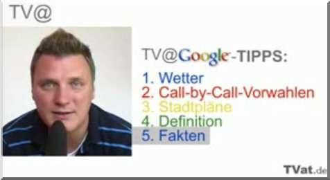 Stefan Keuchel, Pressesprecher von Google Deutschland, präsentiert 5 Google-Tipps