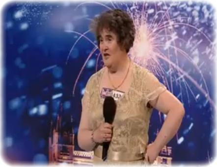 Susan Boyle bei Britains Got Talent (c) Screenshot YouTube.de