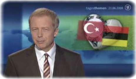 Tagesthemen unter falscher Deutschland-Flagge: Rot-Schwarz-Gold statt Schwarz-Rot-Gold