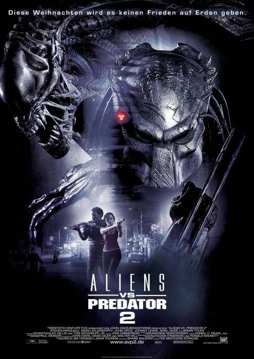 Hauptplakat Aliens vs. Predator 2 © 2007 Twentieth Century Fox