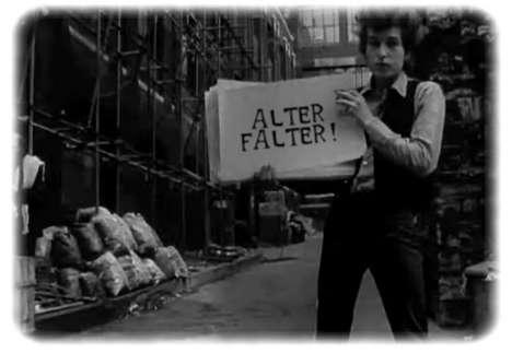 Bob Dylan lässt schön grüßen