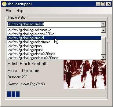 TheLastRipper - zum Mitschnitt von Last.fm