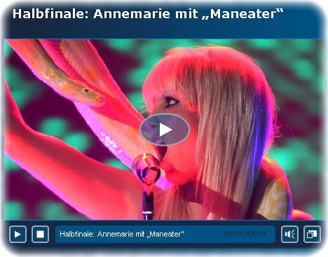 Annemarie Eilfeld, die Schlange und das Aus, Screenshot (c) www.rtl.de