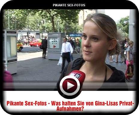 BILD-Strassenumfrage zu Gina Lisas Sexvideos und -bildern (c) bild.de