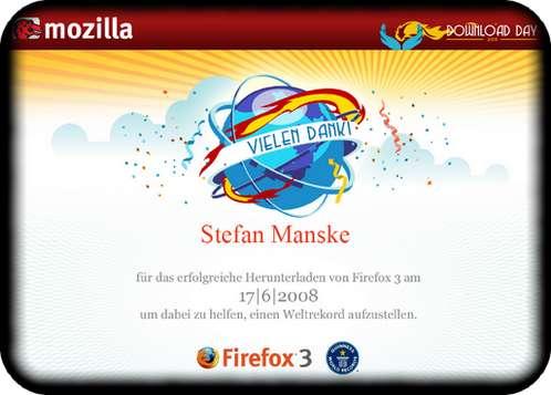 Firefox-3-Weltrekord-Zertifikat