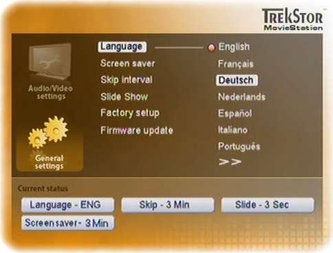 TrekStor MovieStation Firmware-Update 1.24