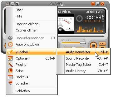 APE und FLAC in MP3 konvertieren