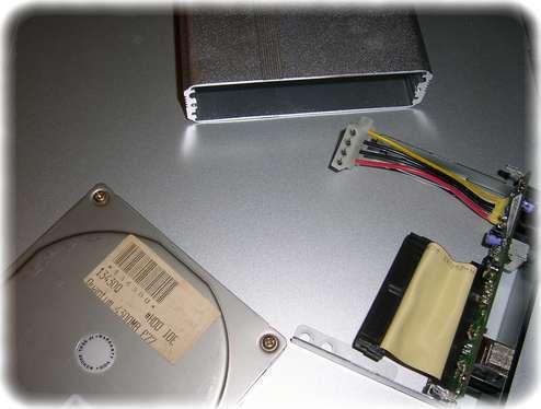 3.5'' Festplattengehäuse USB 2.0 Aluminium