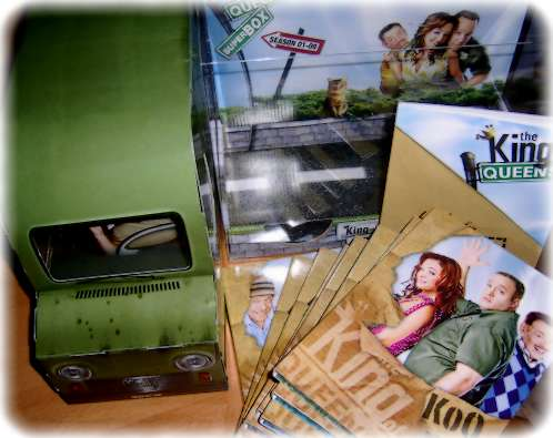 King of Queens - 36 DVDs im IPS-Truck