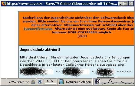Save.TV - Online-TV-Rekorder