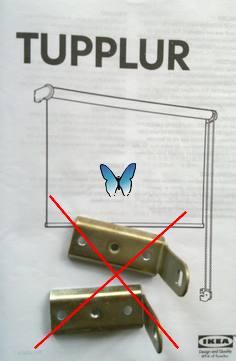 Tupplur - Rollo von Ikea
