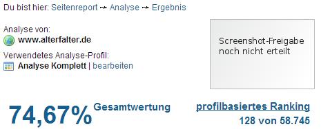 Seitenreport vom 25.01.2013 (c) Seitenreport.de