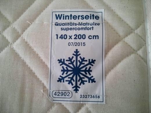 Matratze mit Winter-Seite
